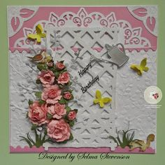 Selma's Stamping Corner and Floral Designs: Roses in my Garden