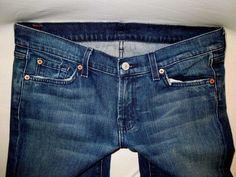 Women Sz 34X33.5 #7ForAllMankind Signature Boot Cut Stretch #BootCut #Jeans #WomensFashion #WomensJeans