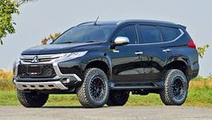 Mitsubishi Strada, Mitsubishi Pajero Sport, Montero Sport, Suv Cars, Custom Vans, Outlander, Offroad, Dream Cars, Automobile