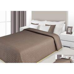 Prehoz na posteľ hnedej farby s prešívaným vzorom Hotel Bed, Bedding Sets, Luxury, Furniture, Home Decor, Beautiful, Decoration Home, Room Decor, Bed Linens