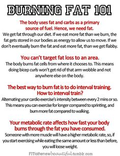 interval training / do it