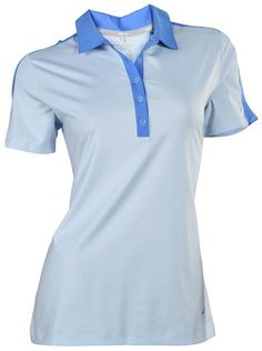 Made from polyester and spandex this womens dri-fit Dotty design stretch golf polo shirt by Nike will ensure you remain dry and comfortable when out on the course Nike Womens Golf, Womens Golf Polo, Nike Golf, Golf Polo Shirts, Nike Dri Fit, Polo Ralph Lauren, Fitness, Mens Tops, Spandex