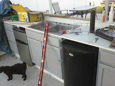 Kegerator n fridge roughed in