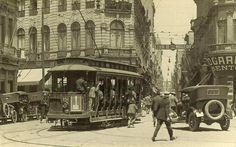 Largo São Bento, década de 1920