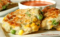 Vegetable Fritters from the cookbook Quick-Fix Vegan
