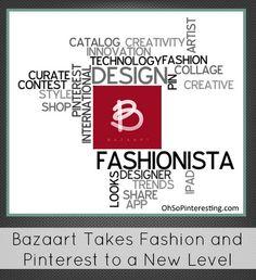Bazaart, an iPad app based on Pinterest is receiving international recognition for its innovation via OhSoPinteresting.com #Marketing #SocialMedia #bazaart