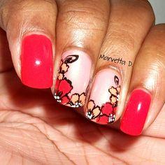 Floral!  #nails #nailart