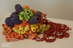 Trash as Treasure: Crocheting Plastic Coral Reefs With yarn made from discarded plastic bags, Australian artist Helle Jorgensen stitches delicate sculptures of corals.