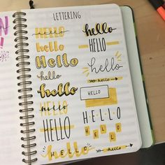 Editable Printable Cleaning Schedule and Checklist lettering reference : bulletjournal Bullet Journal School, Bullet Journal Inspo, Bullet Journal Lettering Ideas, Bullet Journal Writing, Bullet Journal Banner, Journal Fonts, Bullet Journal Aesthetic, Bullet Journal Ideas Pages, Schrift Design