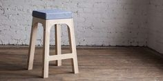 Interchangeably Capped Chairs - The 2nd Shift Studio Stool Has Versatility Like Few Simple Seats Do (GALLERY)