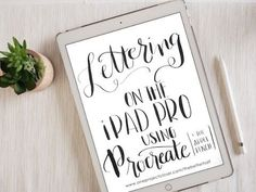 with iPad Pro and Apple Pencil Can't wait to learn Hand Lettering with iPad Pro and Apple Pencil!Can't wait to learn Hand Lettering with iPad Pro and Apple Pencil! Inkscape Tutorials, Creative Lettering, Lettering Art, Creative Art, Typography, Affinity Designer, Lettering Tutorial, Apple Ipad, Motivation