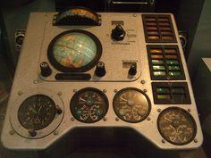 Восток-1's control panel