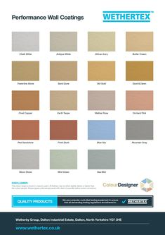 View The Colour Swatch And Color Chart To See What Our Beautiful Masonry Coatings Could Do Outdoor Paintcolour