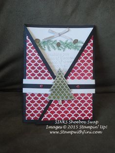 Peaceful Pines SINKS Shoebox swap 2015 (9)