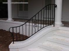Raleigh Wrought Iron Railing Fabrication Patio Stairs, Iron Work, Wrought Iron, Fabric, Home Decor, Tejido, Tela, Decoration Home, Room Decor