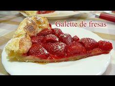 Damereceta - JOSEAN MG en la cocina - Galette de Fresas