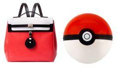 This Pokemon Backpack by Jason Wu is Surprisingly Elegant #backpacks #backtoschool trendhunter.com