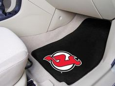 "NHL - New Jersey Devils 2-pc Printed Carpet Car Mats 17""x27"""