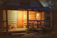 Garage Doors, Shed, Outdoor Structures, Cabin, Outdoor Decor, Life, Home Decor, Decoration Home, Room Decor