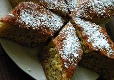 Kevert almás diós süti - gyors, olcsó és csodás íze van!! - Ketkes.com Hungarian Desserts, Hungarian Cake, Hungarian Recipes, Peach Cookies, Sweet Cookies, Cake Cookies, Cake Recipes, Dessert Recipes, Walnut Cake