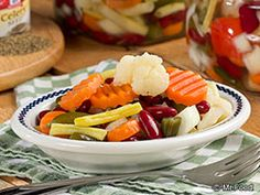 Fresh veggies are a must-have when you're serving up a potluck spread, but all that prep work can take a long time! Save yourself the trouble and whip up something fabulous with our recipe for Shortcut Chow Chow Salad. It's a side dish that's full of color and flavor!