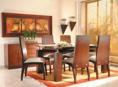 Existe gran variedad de modelos de comedor, debemos escoger uno que combine con el estilo de nuestra casa. Los hay minimalistas, modernos,...