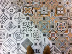 Patterned Floor by Mariana Pickering (Emu Architects)