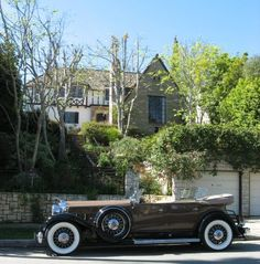 Jean Harlow's house (built before 1937) and car| Ruby's Musings