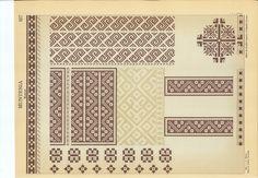 CUSATURI ROMANESTI - ELISA I. BRATIANU -131 Folk Embroidery, Embroidery Designs, Folk Fashion, Document Sharing, Pattern Books, Traditional Outfits, Cross Stitch Patterns, Diy And Crafts, Sewing Patterns