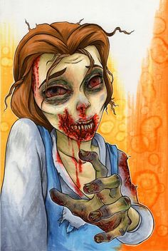 zombie princess | -disney-princess-walkers-belle-15-pieces-of-disney-princess ...