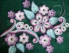Irish crochet. Ideas. A lot of. Discussion on LiveInternet - Russian Service Online diary