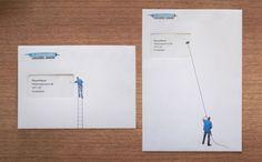 Logchies Junior Window Cleaners: Envelopes. Agency: BeyenMeyer, Amsterdam, The Netherlands.