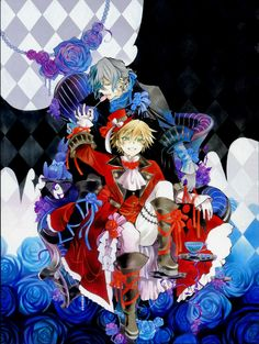 The episodes of the Pandora Hearts anime are based on a manga by Jun Mochizuki. Description from thefemalecelebrity.info. I searched for this on bing.com/images