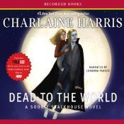 New York Times best-selling author Charlaine Harris thrills listeners with the fourth book of her spectacular Sookie Stackhouse series. Driving home from work, barmaid and telepath Sookie Stackhouse discovers vampire and area sheriff Eric on the side of the road missing his shirt, his shoes and his memories. Featuring vampires, werewolves and magic galore, Dead to the World will satisfy any listener's craving for the supernatural.