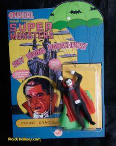 Parachuting Super Monsters!