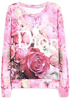 Dior , sweat , cute , sweet , rose