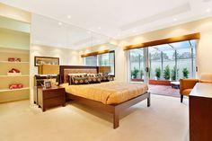 The Chesterfield master bedroom by McDonald Jones Homes. #bedroom #design #luxuryhome #mcdonaldjones