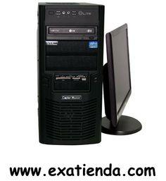 Ya disponible Pc GDX gamer pro i74741 i7 4770 8gb 1tb rwdvd lt gt610 2gb   (por sólo 683.99 € IVA incluído):   -Este equipo GDX con tecnologíaI7 de 4ª Generacion, DDR3 y grafica GForce de satisfará cualquier necesidad tanto a nivel profesional como en su entretenimiento.  - Procesador:Intel Core i7-4770 - Memoria:8Gb/1600 MHzDDR3 KINGSTON - Disco duro:1Tb S.ATAIII (6Gbps) - Optico:Regrabadora DVD DL - Grafica:GeForce N610GT 2GB - Lector de tarjetas: SI(36 en 1) - Otros