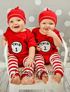Twins one year