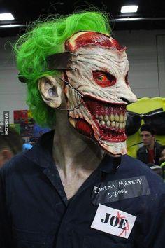 New 52 Joker by the Cinema Makeup School