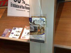 Producción bolsillos acrílicos para tiendas Easy a nivel nacional promocional campaña Kaindl Regala un auto 0 kilometros