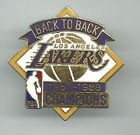 For Sale - NBA Los Angeles Lakers 1987-1988 Back To Back Champions Pin OOP Magic Johnson - http://sprtz.us/LakersEBay
