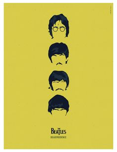 Famous Band - Beatles #illustrator #vectorgraphic #famousband #beatles #illustration #carachters