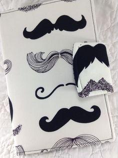 Un regalo original!! Cartera con bigotes!!
