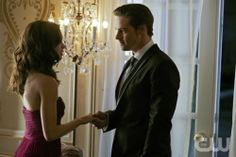 "Beauty and the Beast -- ""Bridesmaid Up!"" -- Pictured (L-R): Kristin Kreuk as Catherine and Jay Ryan as Vincent -- Photo: Sven Frenzel/The CW — Image Number: BB108b_0190.jpg -- © 2012 The CW Network, LLC. All rights reserved."