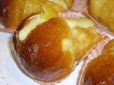 One of my favorite! Babà from Napoli Italian Desserts, Italian Recipes, Savarin, Limoncello, Recipe Images, Street Food, Pudding, Yummy Food, My Favorite Things