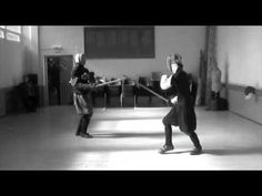 I really dig their style. Renaissance Combat  in Edinburgh  (Historical Fencing or European Martial Arts) - The 1595 Club