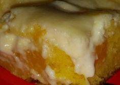 Easy Peaches and Cream cake Recipe -  Let's try to make Easy Peaches and Cream cake in our home!