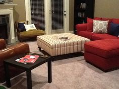 Create Your Own Custom Ottoman Your Fabric Your by AgamediDesigns, $220.00