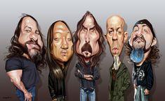 Caricature Dream Theater